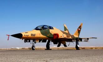 L'Iran dévoile une nouvelle version de son avion de chasse Saiyqat 2