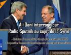 [Interview] Situation en Syrie et plan de la communauté internationale