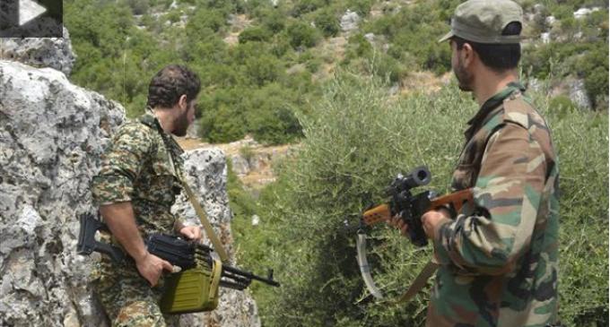 [VIDEO] L'armée syrienne et le Hezbollah éliminent 6 terroristes et en captures 14 à Zabadani