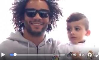 [VIDEO]Le petit Ahmed Dawabsheh a rencontré Cristiano Ronaldo et les Stars du Real Madrid