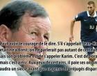 Guy Roux : «son problème est de s'appeler Karim»