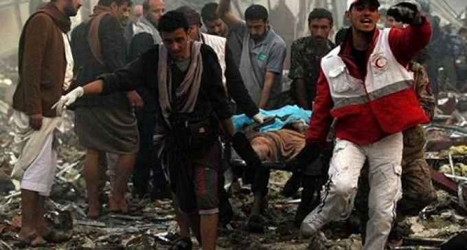 NOUVEAU MASSACRE AU YÉMEN : 5 morts dans un raid aérien de la coalition arabo-sioniste sur une école