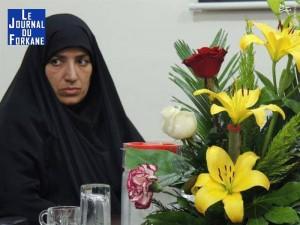 Iran...Nomination de la première femme en tant que gouverneur de la province du Khouzistan.2