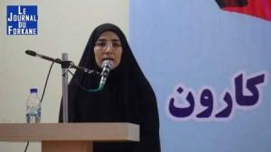 Iran...Nomination de la première femme en tant que gouverneur de la province du Khouzistan.3