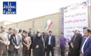 Iran...Nomination de la première femme en tant que gouverneur de la province du Khouzistan.4