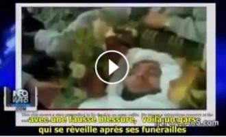 Les fausses vidéos anti-Assad…Un homme se réveille après ses funérailles