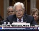 [Vidéo] | 2 palestiniens et 3 américains interrompent une audience au sénat américain brandissent le drapeau Palestinien