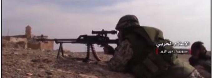 [Vidéo]   L'Armée Arabe Syrienne avance à Alep et Deir ez-Zor contre Daesh