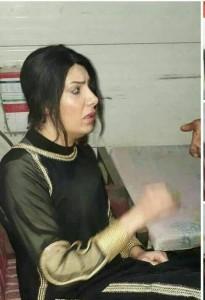 Les services de securité irakienne ont arrété aujourd'hui un terroriste déguisé en femme, dans un checkpoint à l'entrée de la ville sainte de Karbala2