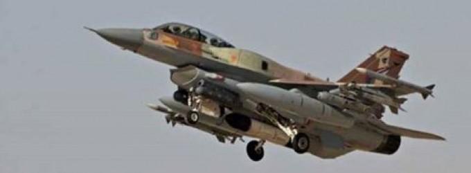Un avion militaire israélien attaque l'Armée Arabe Syrienne à l'ouest de Damas