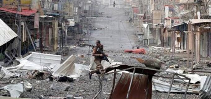 Des images de la guerre des rues contre les terroristes à Mossoul