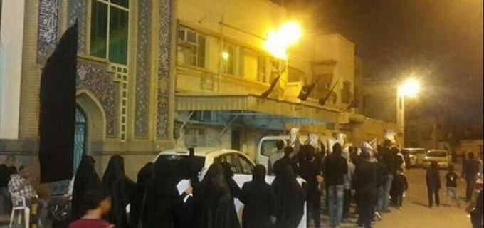 En images : Les bahreinis continuent de se mobiliser contre le systeme des Al Khalifa et refusent la présence de l'Arabie Saoudite au Bahreïn