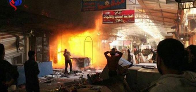 En images : Les terroristes salafistes de Daesh tirent des obus sur le quartier du Prophète Younous-Jonas (P)