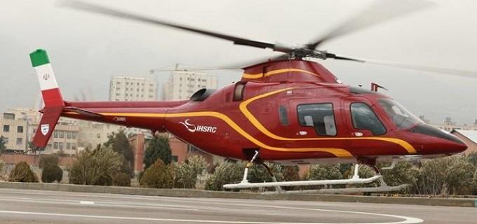 L'iran dévoile son nouvel hélicoptère 100% iranien