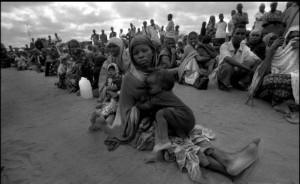 monde de réfugié