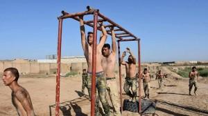 Les combattants de la Mobilisation Populaire irakienne s'entraînent avant d'aller combattre les terroristes salafistes de Daesh5