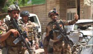 Les forces irakiennes pourchassent les terroristes de Daech à Mossoul2