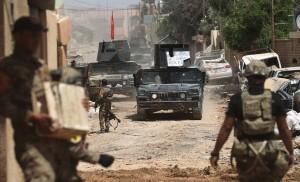 Les forces irakiennes pourchassent les terroristes de Daech à Mossoul3