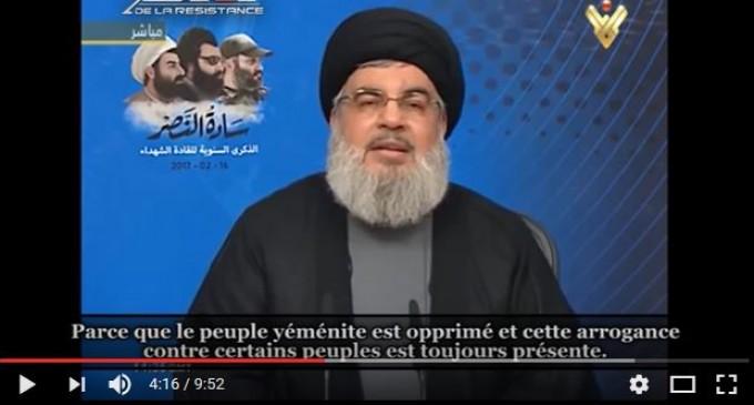 Nasrallah : les USA et l'Arabie saoudite ont créé les plus grands criminels de l'histoire