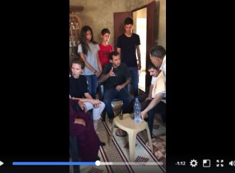 Bachar Al Assad et sa famille rendent visite à la famille d'un héros syrien blessé