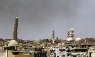 DAESH explose à la dynamite le minaret de la mosquée Nouri dans la vieille ville de Mossoul
