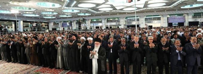 L'Ayatollah Khamenei préside la prière de l'Aïd Al Fitr à Téhéran