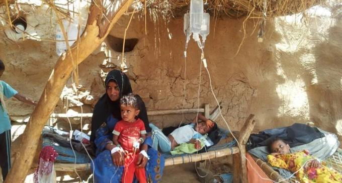 27 mois que les USA, le Royaume-Uni soutiennent l'Arabie Saoudite qui impose un blocus et bombarde les hôpitaux et infrastructures yéménites