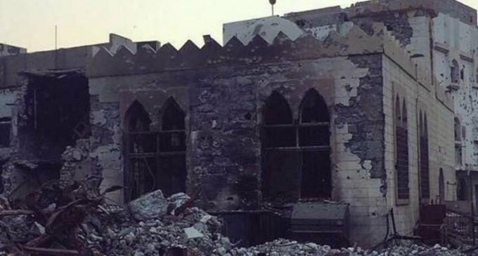 L'Arabie saoudite détruit des mosquées à Al Awamiyah