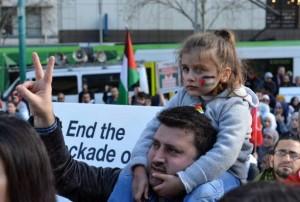 Les citoyens de Melbourne, en Australie, manifestent dans les rues en solidarité avec la mosquée Al-Aqsa et la Palestine occupée !1