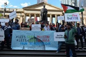 Les citoyens de Melbourne, en Australie, manifestent dans les rues en solidarité avec la mosquée Al-Aqsa et la Palestine occupée !4