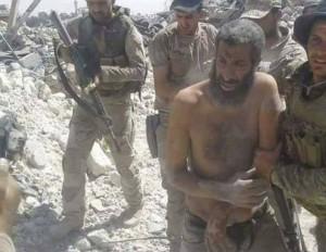 Les forces irakiennes capture un commandant de Daech, le terroriste Mohammed Salah Said dans la vieille ville de Mossoul1