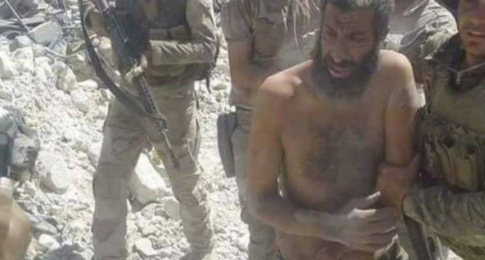 Les forces irakiennes capture un commandant de Daech, le terroriste Mohammed Salah Said dans la vieille ville de Mossoul