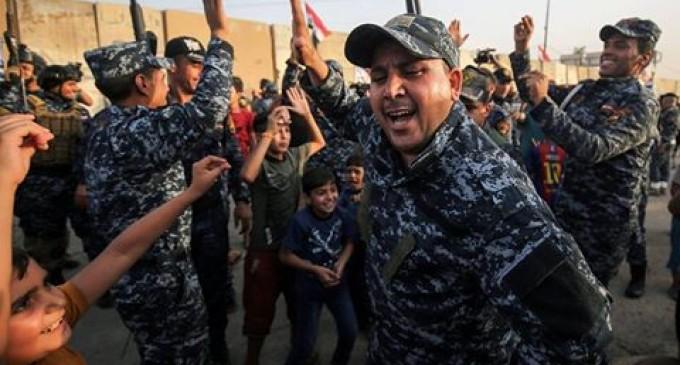 Transmettez un message aux forces Irakiennes après la libération de Mossoul