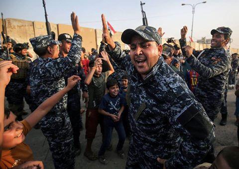 Transmettez un message aux forces Irakiennes après la libération de Mossoul1