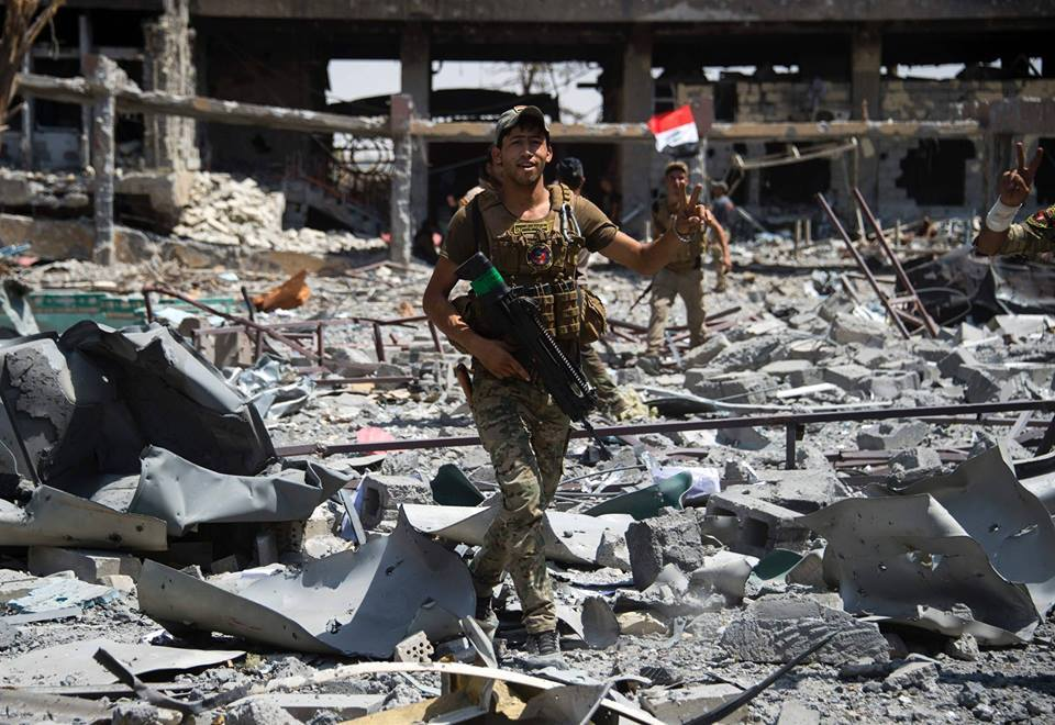 Transmettez un message aux forces Irakiennes après la libération de Mossoul2