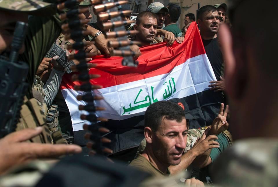 Transmettez un message aux forces Irakiennes après la libération de Mossoul3