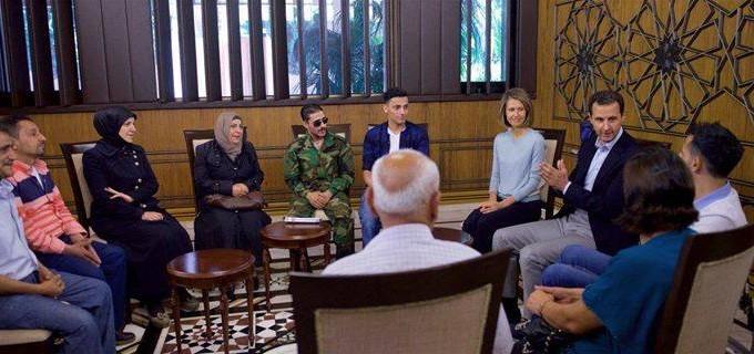 Le Président Syrien Bachar el-Assad, au cours de sa rencontre avec les forces de l'Armée Arabe Syrienne : «Vous êtes un exemple pour nous tous»…
