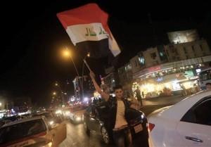 les habitants de Bagdad célèbrent la libération de Mossoul... Que voulez-vous dire à cette occasion 5