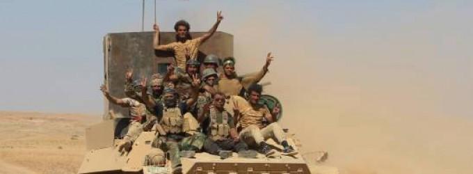 En images : Les forces irakiennes se rendent à Tal Afar