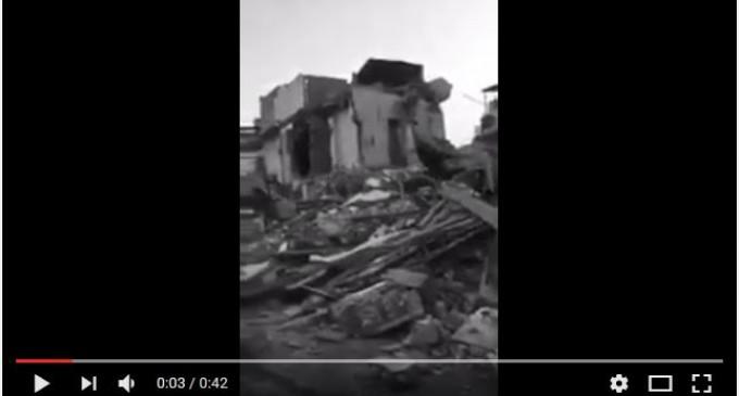 Regardez comment les Saouds ont réduit en ruines la moitié d'Awamiyah