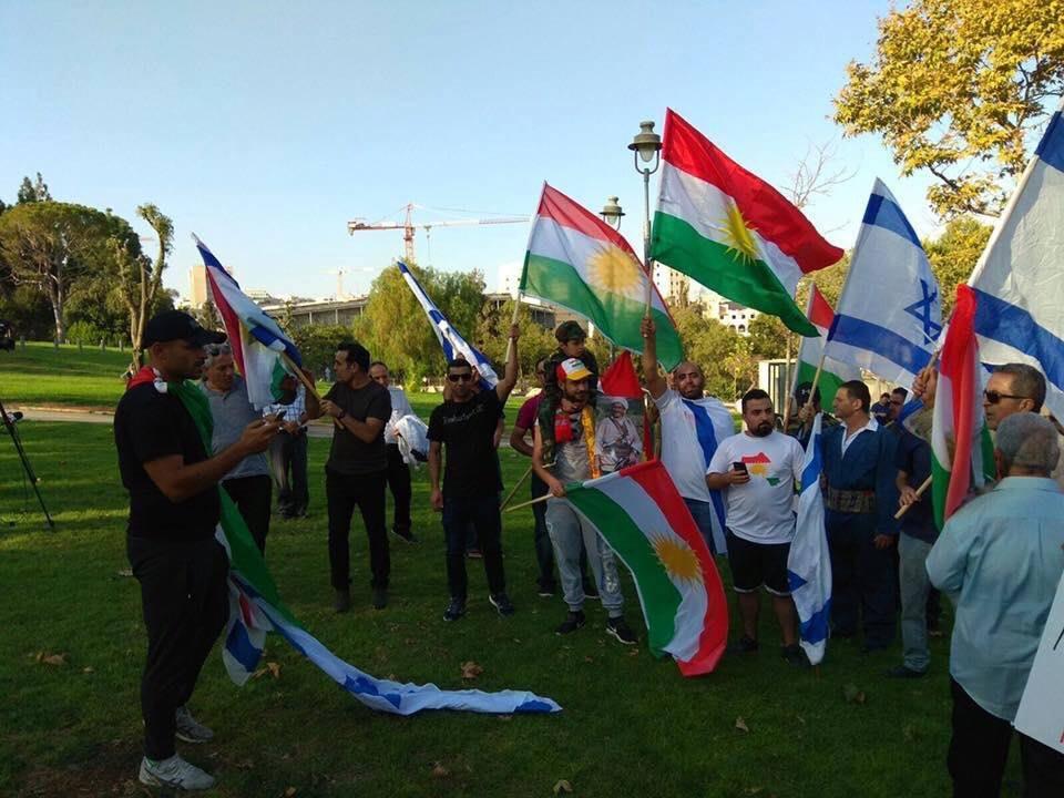 Fête de l'indépendance du Kurdistan dans jérusalem occupée !!!2