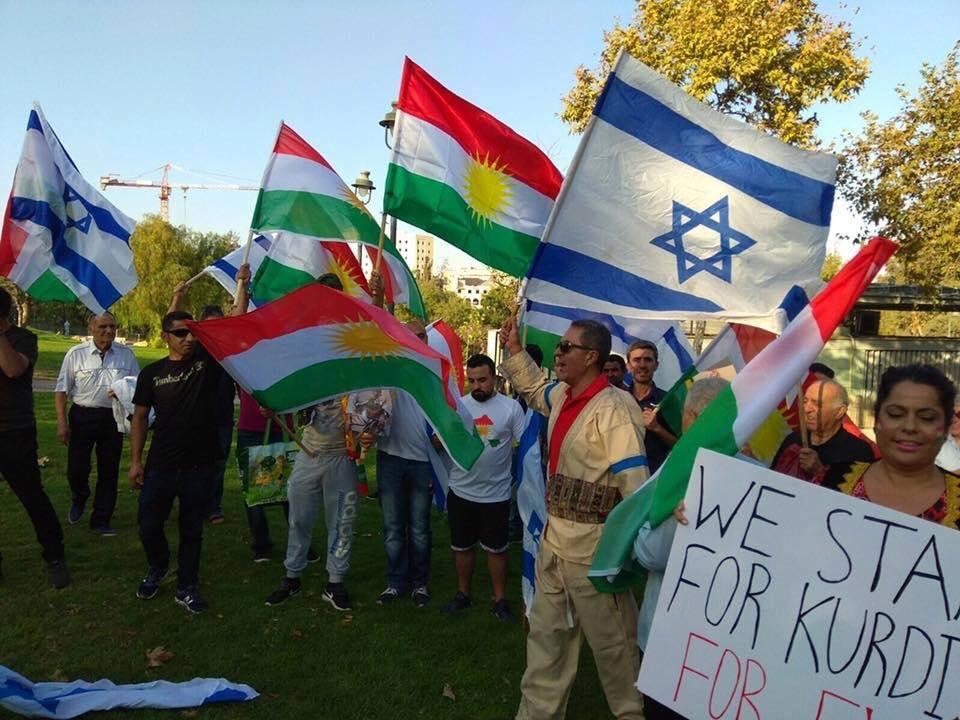 Fête de l'indépendance du Kurdistan dans jérusalem occupée !!!3