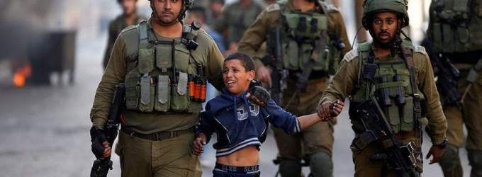 Des enfants palestiniens de 7 ans arretés hier à Al Khalil !!!