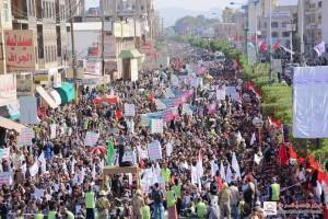 manifestation monstre à Saada (Yémen) pour commémorer le martyre de l'Imam Hussein (AS) - Petit fils du Prophète (P)11
