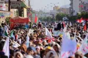manifestation monstre à Saada (Yémen) pour commémorer le martyre de l'Imam Hussein (AS) - Petit fils du Prophète (P)5