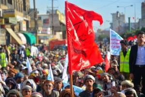 manifestation monstre à Saada (Yémen) pour commémorer le martyre de l'Imam Hussein (AS) - Petit fils du Prophète (P)6