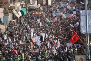 manifestation monstre à Saada (Yémen) pour commémorer le martyre de l'Imam Hussein (AS) - Petit fils du Prophète (P)9