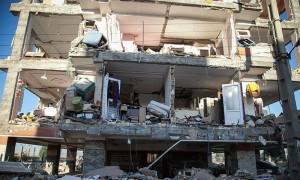 Des images de la province iranienne de Kermanshah, frontalière de l'Irak touchée par le violent séisme qui a fait plus de 300 morts et des milliers de victimes1