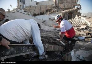 Des images de la province iranienne de Kermanshah, frontalière de l'Irak touchée par le violent séisme qui a fait plus de 300 morts et des milliers de victimes2
