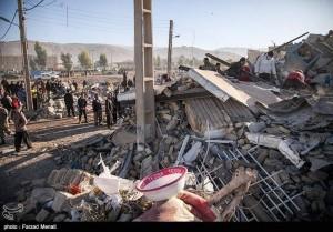 Des images de la province iranienne de Kermanshah, frontalière de l'Irak touchée par le violent séisme qui a fait plus de 300 morts et des milliers de victimes4